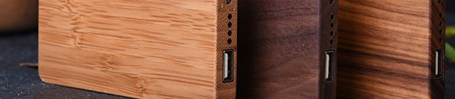 Ahşap PowerBank - Wood PowerBank