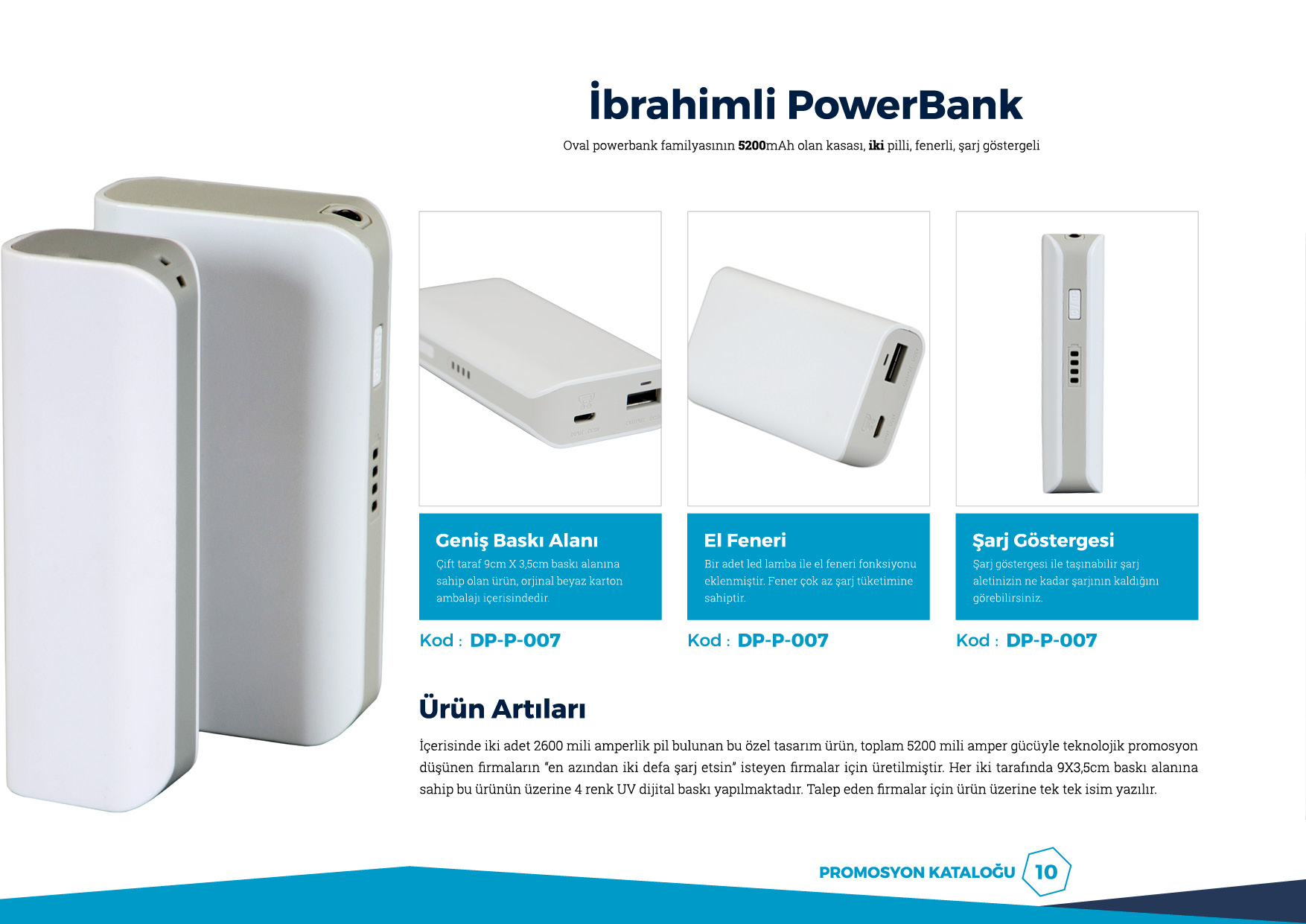 ibrahimli powerbank 5200